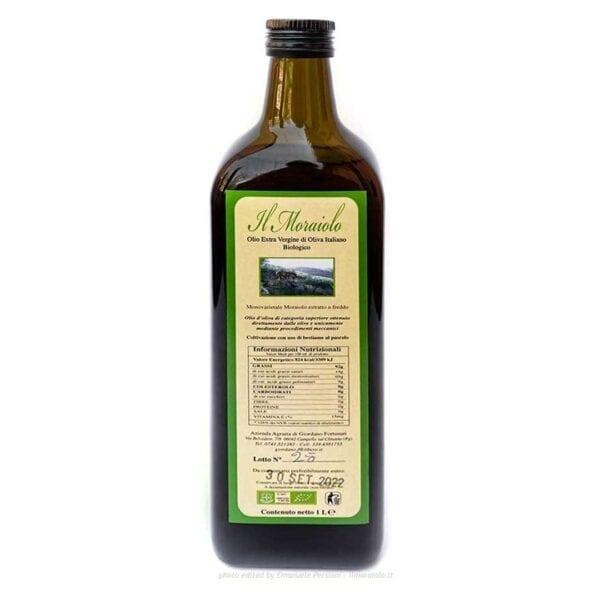 Olio di oliva Umbria, bottiglia da 1l